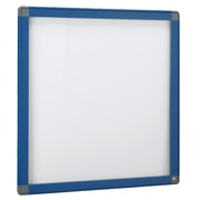 Outdoor information board, hinged door, aluminium frame, 12 sheets