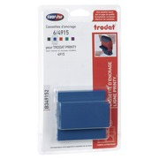 Blister of 3 ink cassettes for Trodat 4915 - blue