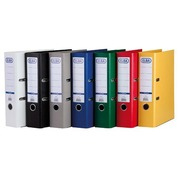 Lever arch files in assorted colours A4 8 cm Elba