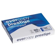 Ream of recycled paper Evercopy Prestige A3 - 80 g