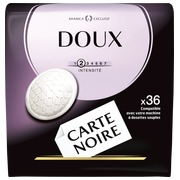 Pack of 36 coffee pads Carte Noire Soft