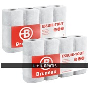 Promo pack kitchen rolls Bruneau 28 rolls + 28 rolls for free