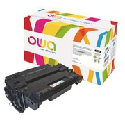 Toner Cartridge Owa HP 55A-CE255A black for LaserJet
