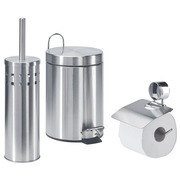 Bathroom sanitary set , stainless steel with matt finish