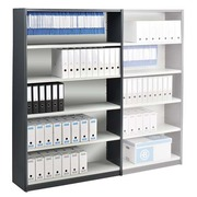 Shelving, height 200 cm