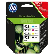 Pack HP 932 XL black and 933 XL colours