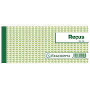 Booklet for receipts 50 sheets 9 x 13 cm Exacompta