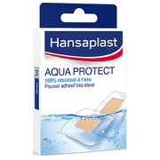 Box of with bandages Aqua Protect Hansaplast
