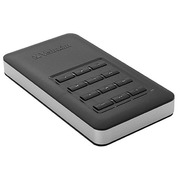 Portable SSD disk 256 GB Verbatim Store'n'Go secured with code
