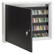 Cabinet for 100 keys closure with key light grey