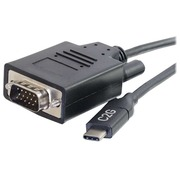 C2G 2.7m (9ft) USB C to VGA Adapter Cable - Video Adapter - Black - external video adapter - black