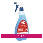 Pack 1 +1  ruitenreiniger Bruneau - Spray 750 ml