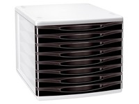 CEP Box Happy, 8 drawer module, black