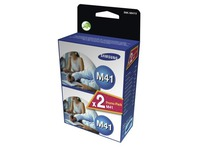 Pack van 2 cartridges Samsung M41 zwart