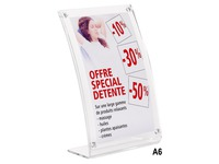 Counter display magnetic size A6 vertical