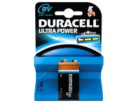 Duracell Ultra Power alkaline batterijen, 9v