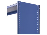 Side cover for shelving, H 250 cm