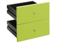 Set 2 drawers kiwi for worktable Biblioffice