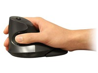 Wireless mouse vertical and ergonomic