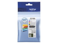Brother LC3219XL Value Pack - 4 - XL - zwart, geel, cyaan, magenta - origineel - inktcartridge