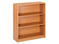 Book Case Plus, low bookcase, cherry, 105 x 90 cm