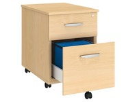 Mobile cabinet wood 2 drawers Arko