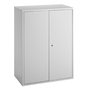 Economical swing door cabinet, H 105 cm