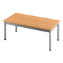 Classic low table, 100 x 50 cm