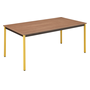 Multi-use eco table 160 x 80 cm teak